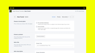 Create checkout and post-purchase offers