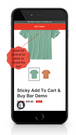 Sticky Buy Now Button - Mobile Minimal Layout