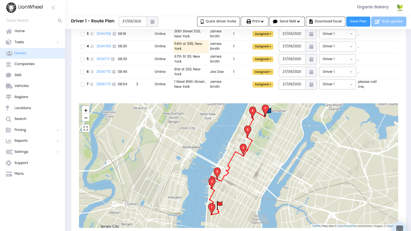 Route Planning and Optimization