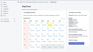 Easily manage times & holidays