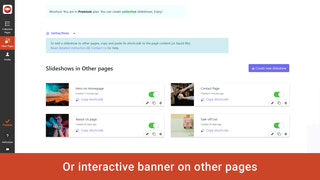 banner collection slideshow image slider for all pages