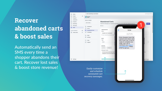 SMS Marketing Automation Abandoned Cart Recovery Boost Sales