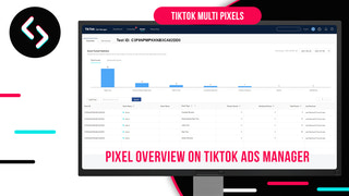 pixel overview on tiktok ads manager