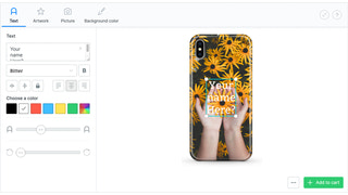 Let your customers add text to your products
