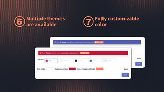 Multiple themes are available