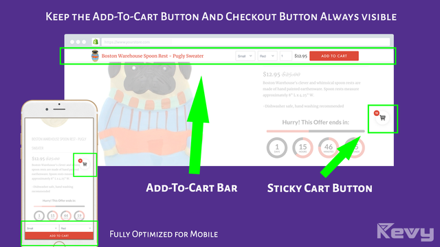 Make Easier Add to Cart when Customer navigating in your Product