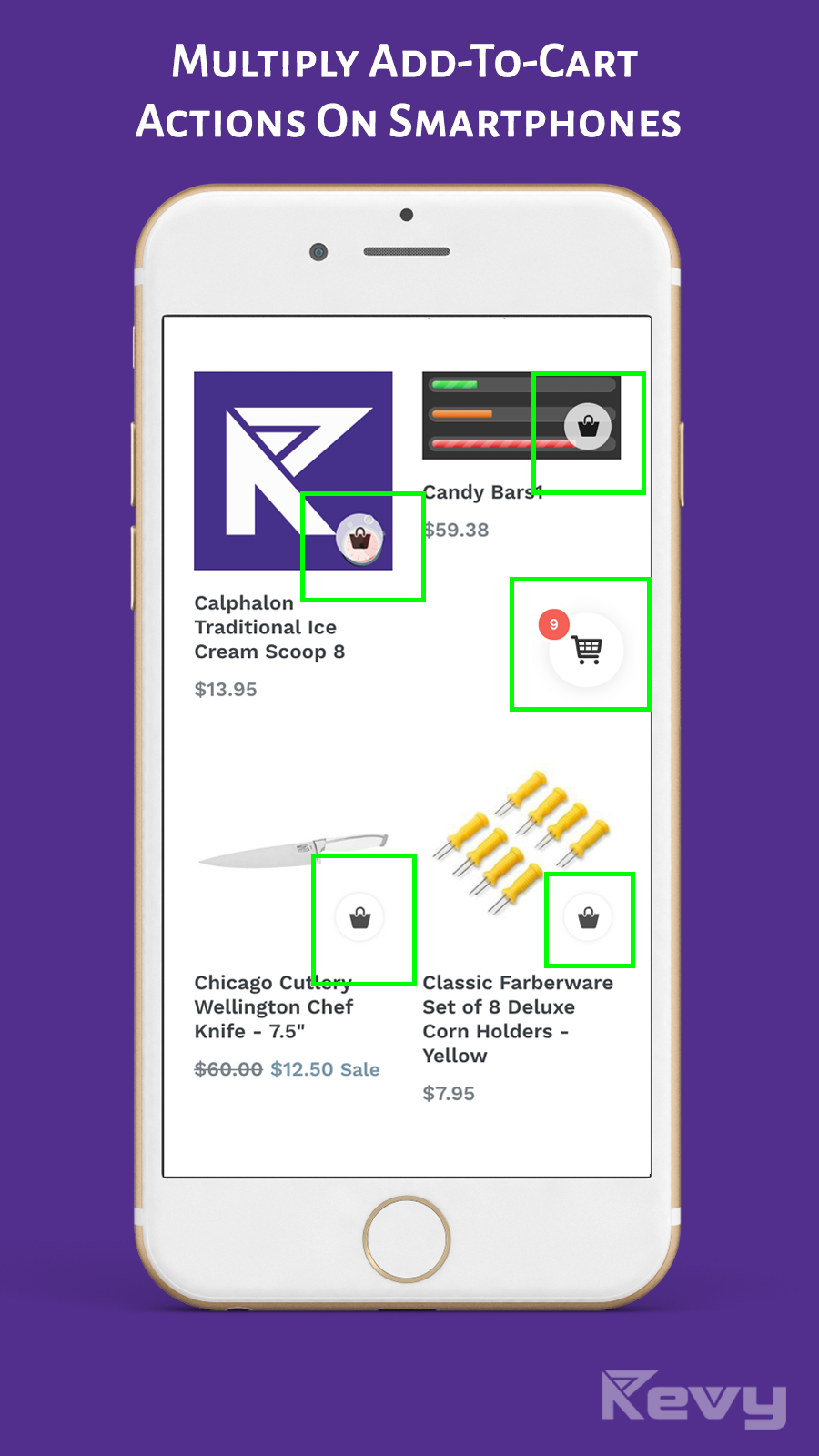 Multiply and boost the add-to-cart actions on mobile screens