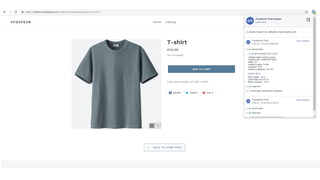Facebook pixel shopify app view content storefront