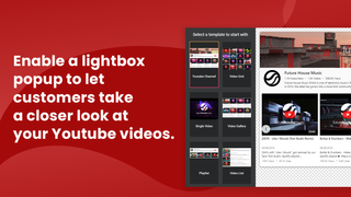 Let customer take a closer look at your Youtube videos