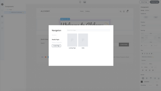 Browse and launch new pages in minutes