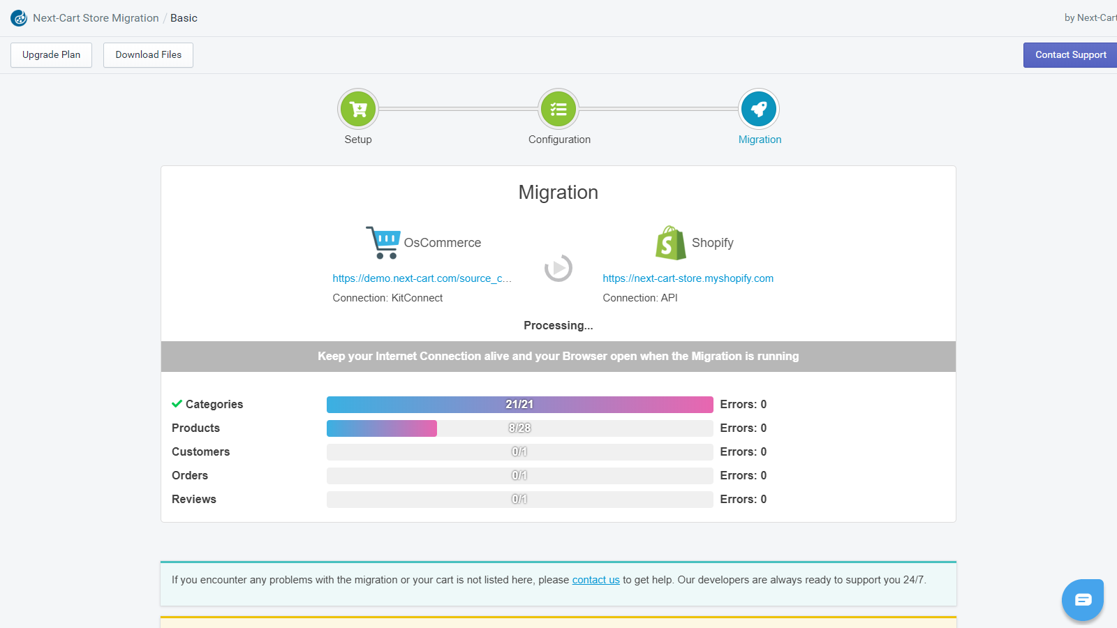shopify import customers