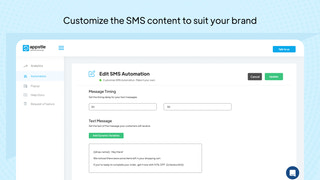 Customize your SMS