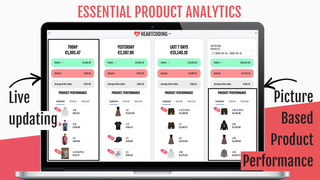 live updated Product Analytics