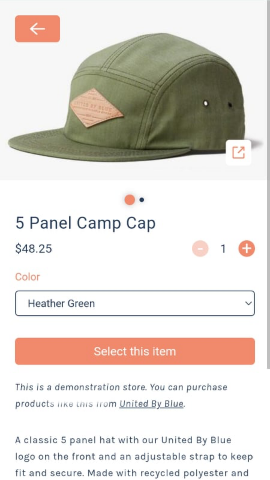 Discount Tags - Product Details