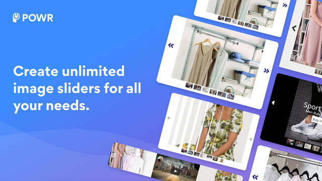 Create unlimited image sliders for all your needs!