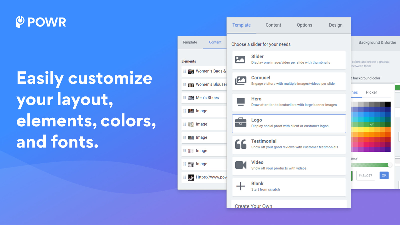 Customize Elements to Create Your Perfect Slider