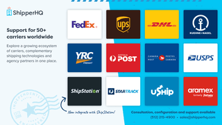 ShipperHQ Marketplace of Carriers, Shipping Providers and More