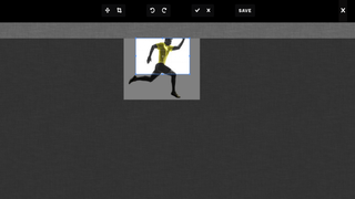 User can adjust their file using image editor.