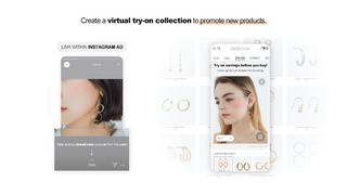 Create a virtual try-on collection to promote new products.