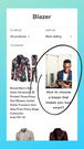 Blog articles in collection with image, mobile version