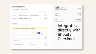 Integrated Subscription Checkout