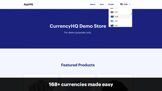168+ currencies made easy
