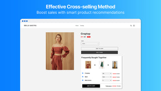Boost sales with smart product recommendations