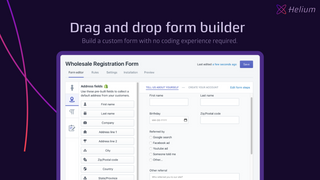 New and improved drag and drop form builder