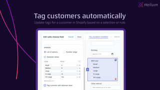 Add customer tags automatically