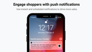 Engage shoppers with push notifications