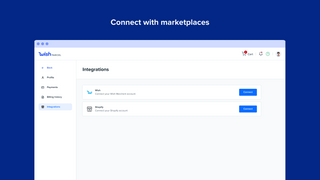 Connect with marketplaces
