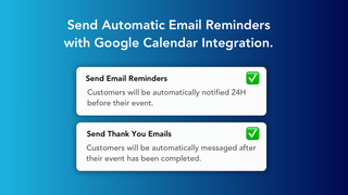 Send automatic email notifications