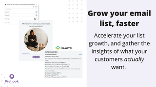 Grow your email list faster, with better customer insights