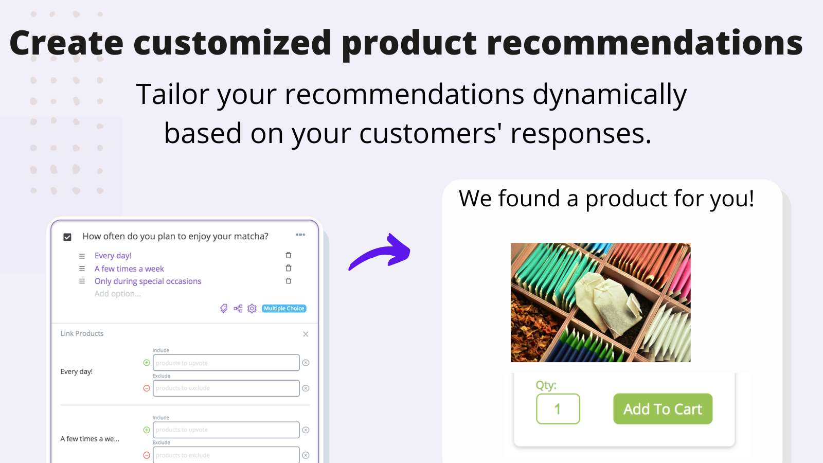 Personalized shopping experiences with product recommendations
