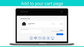 add to your cart page