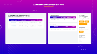 subscriptions and recurring pay admin manage