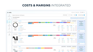 Costs & Margins Integration