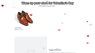 Warm up your store for Valentine's Day