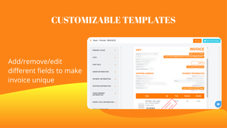 Customizable templates