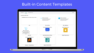 Built-in Content Templates