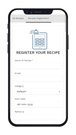 Add Recipe Form Frontend In Mobile