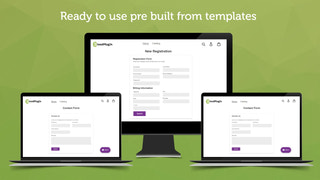 Ready to use form templates