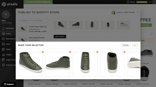 Replace or append images on your product pages
