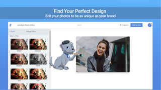 Customize your photos with colors, backgrounds and more