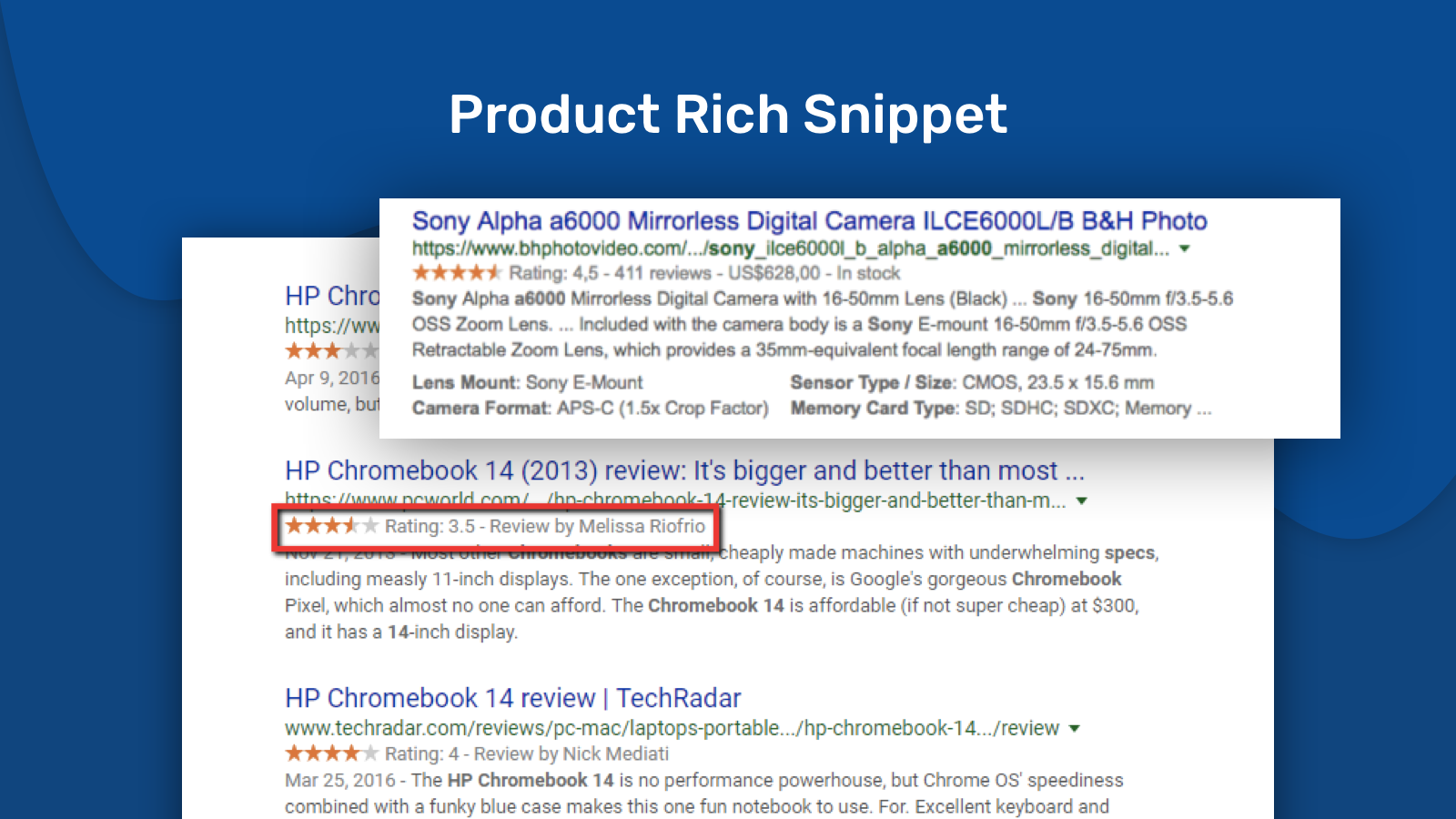 Product Rich Snippets