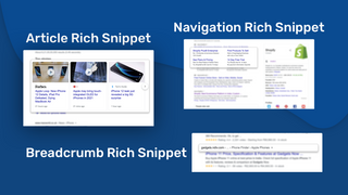 various rich snippets