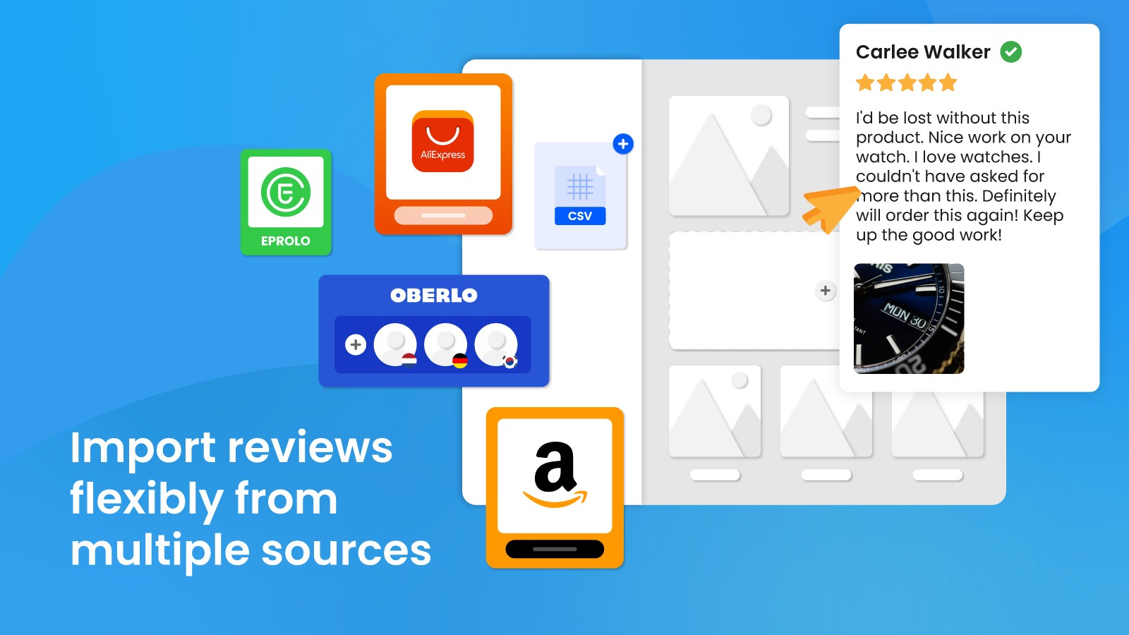 import ali reviews amazon reviews for better social proof
