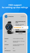 reviews app provides free support to set up star ratings
