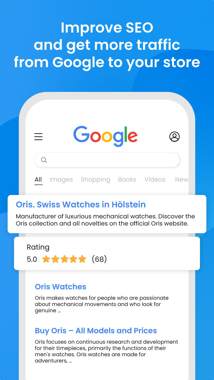 product review aggregator to improve rich snippet