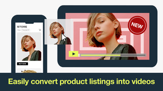 Convert product listings into videos